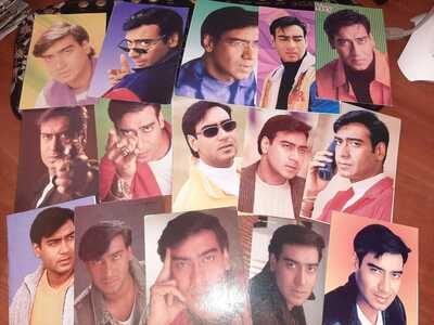 100 psc postcard Bollywood actor Ajay Devgan Rare postcard post card