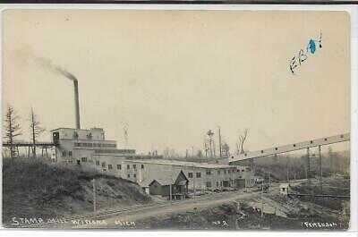 RPPC Mining, Upper Peninsula, Winona, Michigan, card 2,  by Lewis Ferguson c1910
