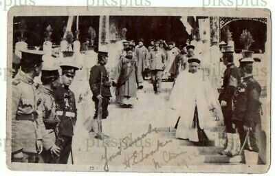OLD POSTCARD THE LIVING BUDDHA FORBIDDEN CITY PEKING CHINA REAL PHOTO C.1910