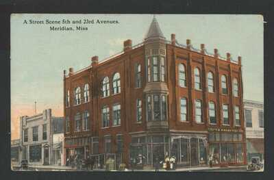 MS~ S.H. KRESS STORE - 5th and 23rd Ave Meridian, Miss. Post Office Clerk Stamp