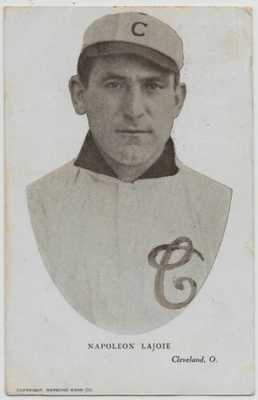 Napoleon Lajoie-Baseball-Cleveland Naps-Raymond Kahn Co.-1907 UDB t82