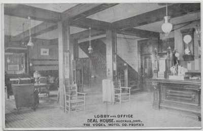 Bucyrus,Ohio-Vogel Hotel Co.-Lobby and Office-Deal House-1911 b74