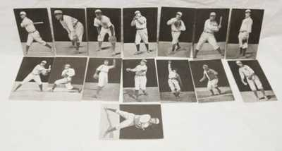1907 Hughie Jennings and His Great 1907 Tigers Dietsche Post Card Set Ty Cob