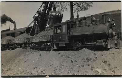 Sidney,Ohio-Construction of Railroad Bridge South of Cemetery-Carter Co. jh38