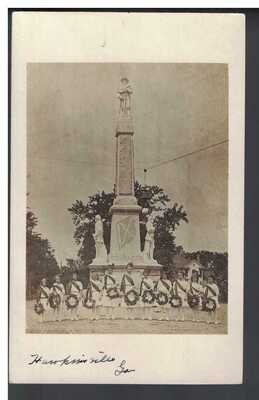 Confederate Monument Unveiling Dedication, Hawkinsville, GA. early 1900s