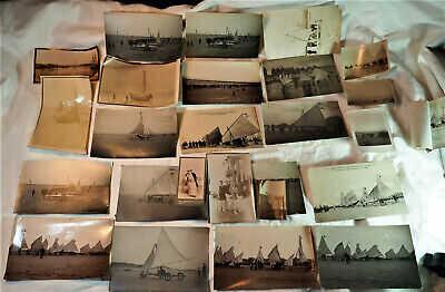Rare CPA cartes photos BERCK PLAGE - propriétaire ATALANTE - Aéroplage vers 19