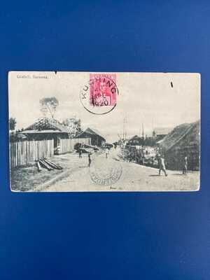 Sarawak , Goebilt Posted to Amsterdam 1920