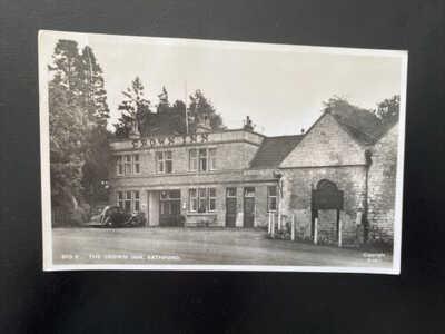Postcard Of The Crown Inn, Bathford RP