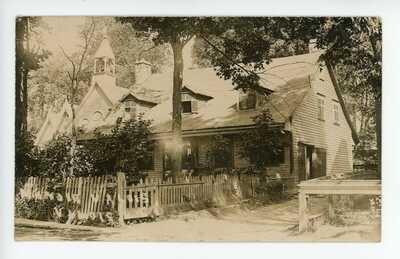 Manoir VALOIS Pointe Claire Montreal Quebec Canada 1909 Real Photo Postcard