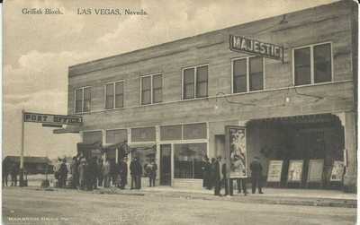 Las Vegas Nevada Griffith Block Antique Unused Postcard