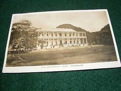 VINTAGE POSTCARD SEYCHELLES NEW GOVERNMENT HOUSE OHASHI MAHE RP