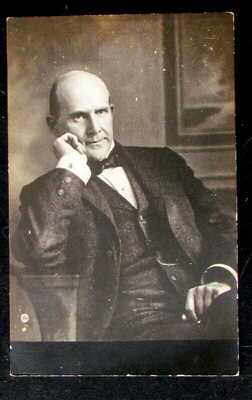 Eugene Debs  Ran For President Socialist Party of America Old  Photo Post Card
