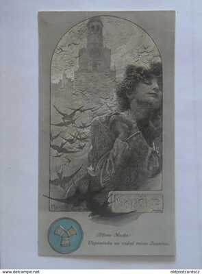 Mucha Alphonse 1909 First Edition Memory of my Native Town