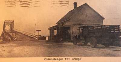 Vintage Postcard Chincoteague Island Virginia, Toll Bridge, 1934
