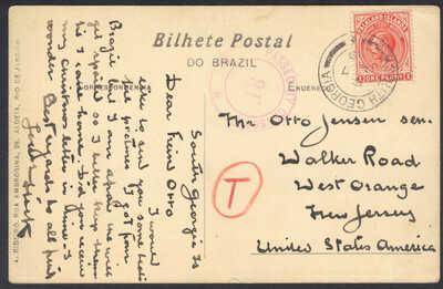 Falkland Islands, South Georiga, Praça 15 de Novembro Rio de Janeiro, Jan 7 191