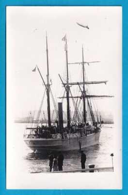 Orig RP Sailing Ship Sir Ernest Shackleton  S.Y. ENDURANCE Antarctic Expedition
