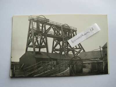 Shropshire  Madeley Kimberton Colliery RP postcard mining