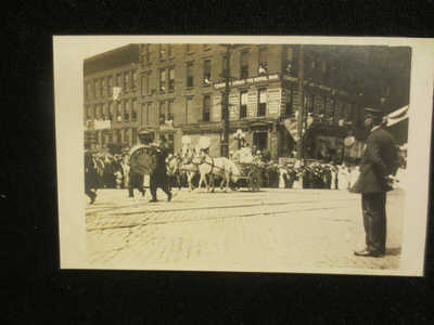 RPPC COLUMBUS OHIO -OHIO WOMAN SUFFRAGE ASSOCIATION PARADE AUGUST 27,1912 RARE