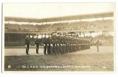 Baseball: Griffith Stadium, Washington, DC; Real Photo Postcard