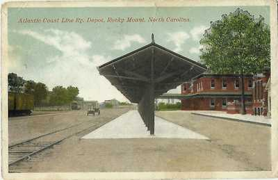 Atlantic Coast Line Railway Depot, Rocky Mount, North Carolina, 1917