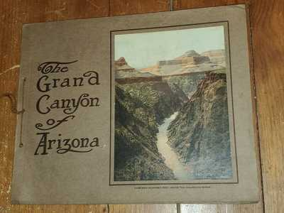 The Grand Canyon Of Arizona By Fred Harvey