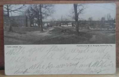 W. E. Burgess, Fork Union, VA Street Scene