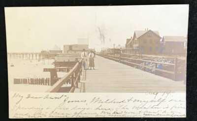 RPPC BOARDWALK, REHOBOTH BEACH, DE  1906