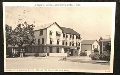 BODDY'S HOTEL, REHOBOTH BEACH, DE