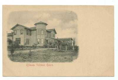 Kilauea, HI Hawaii 1907 Postcard, Volcano House