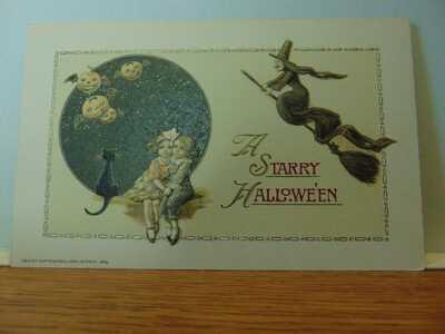 #1 Halloween Postcard winsch
