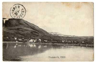 POSTCARD ~ HUSAVIK - ICELAND - POSTED - 1907