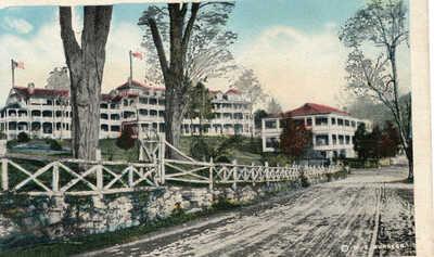 '19 W E Burgess Natural Bridge Hotel Dancing Pavilion Natural Bridge Station Can