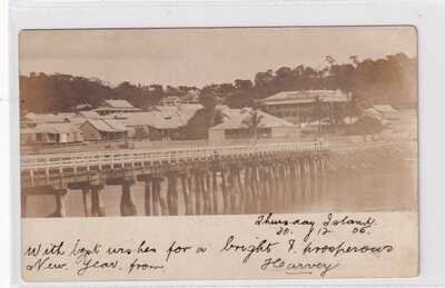 VINTAGE POSTCARDS     THURSDAY ISLAND