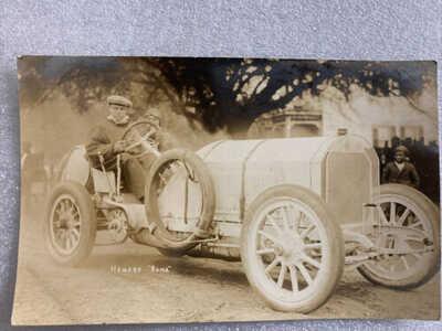 Savannah Race Course Race Car Benz Photo Post Card RPPC