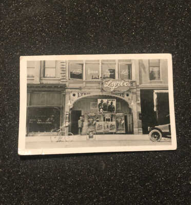 RPPC LYRIC THEATER SAN JOSE CA POSTCARD KAY-BEE THE SUBSTITUTE 1914 Film Ads