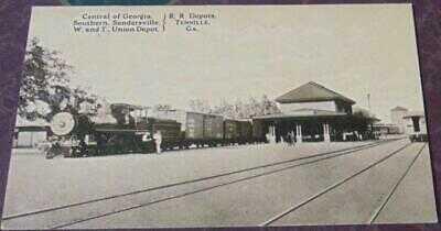 R.R. Depots, Tennille, Georgia