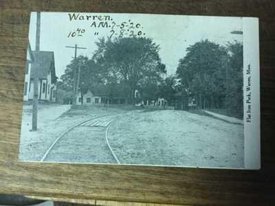 Flat Iron park, Warren, Mass, MA