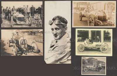 Early Auto Racing Demon Special Owner/Builder Jean Romano's Personal Memorabilia