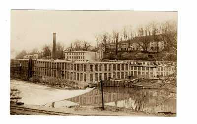 BANCROFT MILLS RPPC~WILMINGTON, DELAWARE~CIRCA 1906