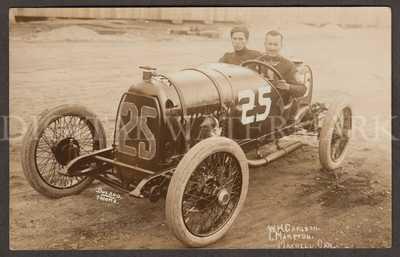 RPPC Super 1914 Tacoma WA Maxwell Auto Racing  Fine Cond.