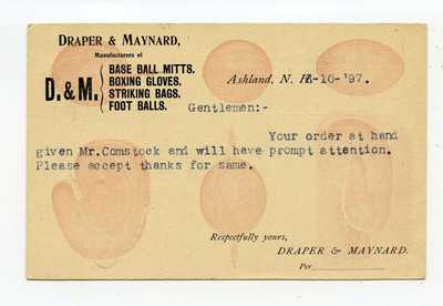ILLUSTRATED GOVERNMENT UX PIONEER  POSTAL CARD 1897 BASEBALL; BOXING; FOOTBALL