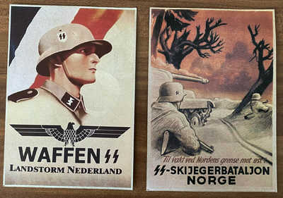 Military German 2  Postcards WW 2