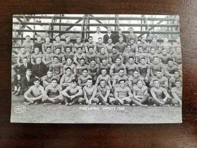1920 University of Illinois Freshman Football Team Real Photo Postcard RPPC