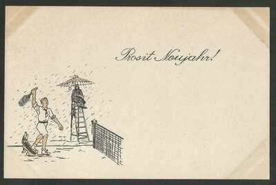 Germany WWI - POW Camp Bando Tokushima Japan - Illustrated Card - unused --- 4