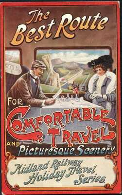 Midland Railway Official Postcard, Holiday Travel Series, 1906-10
