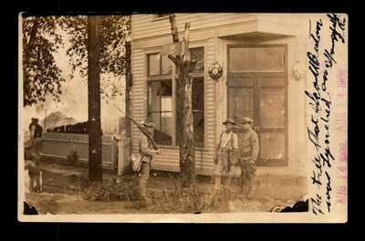 1908 Srpingfield IL Race Riots Real Photo PC of Scott Burton Tree - L14520