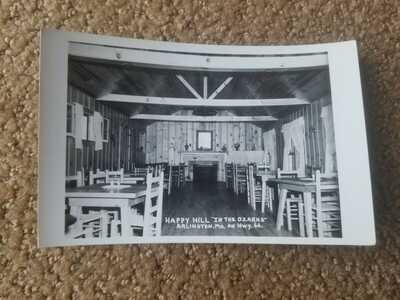 c 1948 Route 66 Arlington Missouri Restaurant Real Photo Postcard RPPC