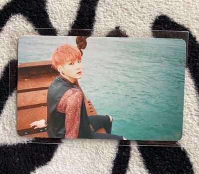 BTS Suga Kayo Nenka pt.1 Japan Official Photocard Rare (Send express service)