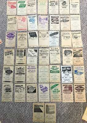 WATCHTOWER Public Talk. Assembly Handbill (44) Different 50s 60s 70s