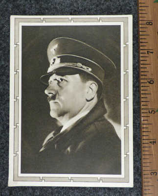 Original German WW2 Photo Postcard Fuhrer Duetsches de Memelland 1939